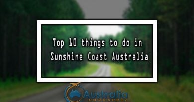 Top 10 things to do in Sunshine Coast Australia