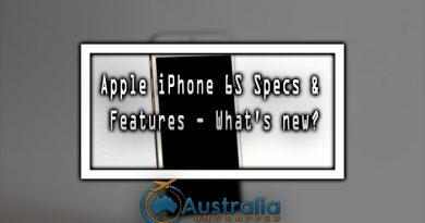 Apple iPhone 6S Specs & Features - What's new