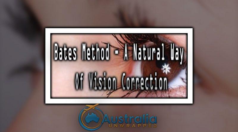 Bates Method - A Natural Way Of Vision Correction