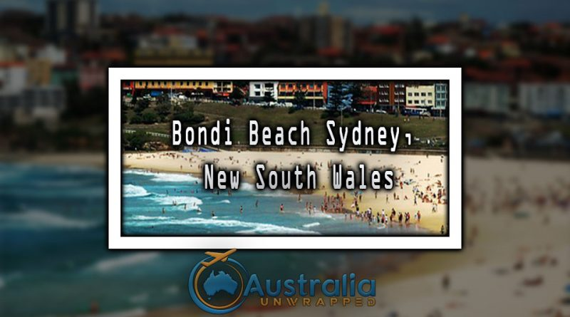 Bondi Beach Sydney, New South Wales
