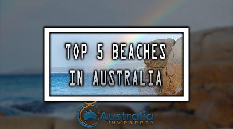 TOP 5 BEACHES IN AUSTRALIA