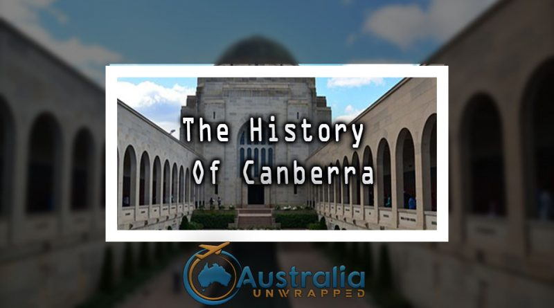 The History Of Canberra