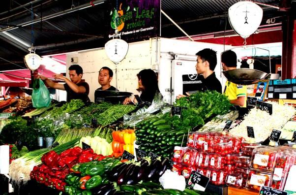 Queen Victoria Market stall