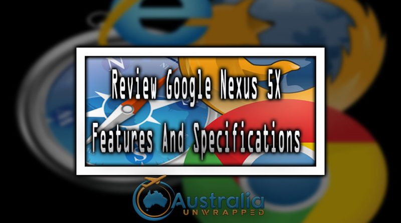 Review Google Nexus 5X features and specifications