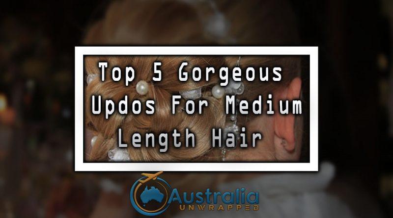 Top 5 Gorgeous Updos For Medium Length Hair