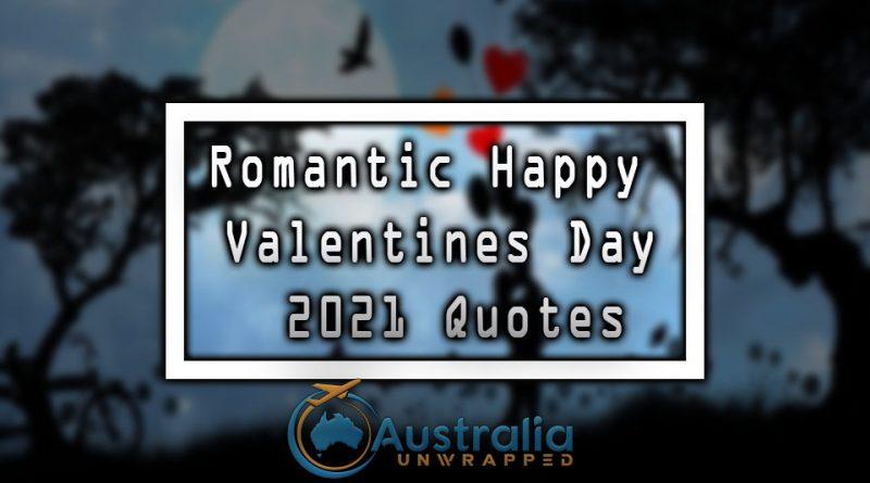 Romantic Happy Valentines Day 2021 Quotes