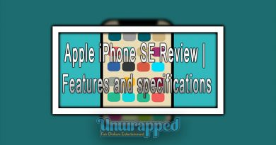 Apple iPhone SE Review   Features and specifications