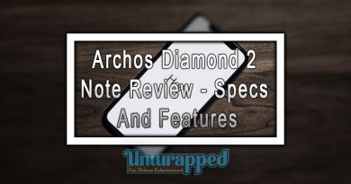 Archos Diamond 2 Note Review - Specs And Features