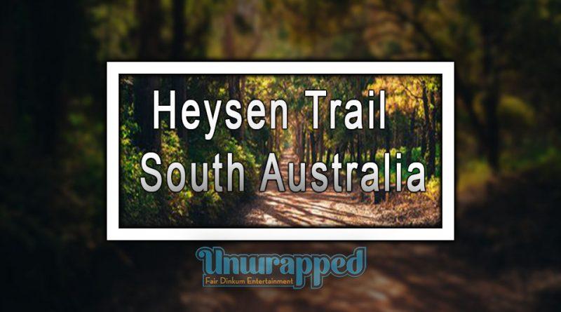 Heysen Trail - South Australia