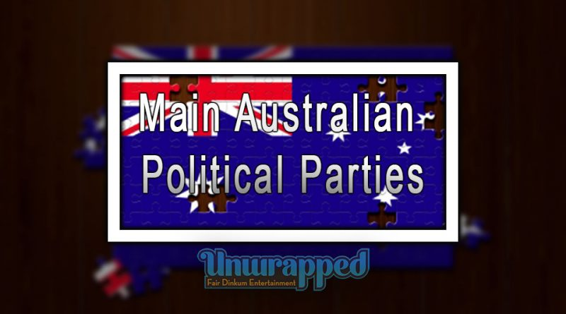 Main Australian Political Parties