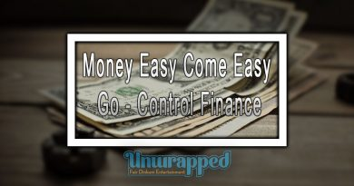 Money Easy Come Easy Go - Control Finance