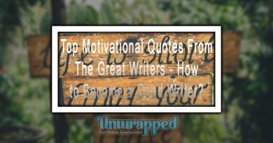 Top Motivational Quotes From The Great Writers - How to Become a Good Writer