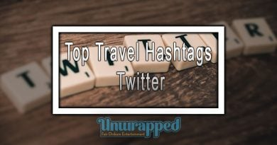 Top Travel Hashtags - Twitter