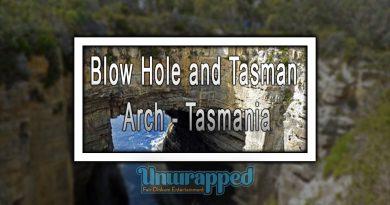 Blow Hole and Tasman Arch - Tasmania