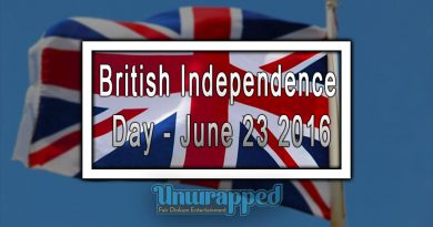 British Independence Day - June 23 2016