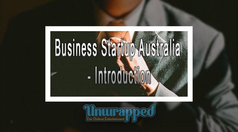 Business Startup Australia - Introduction