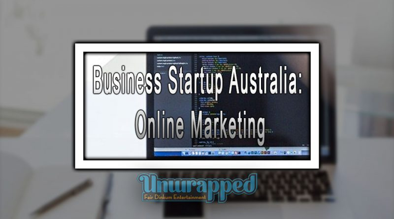 Business Startup Australia: Online Marketing