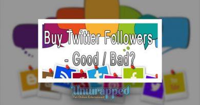 Buy Twitter Followers - Good Bad