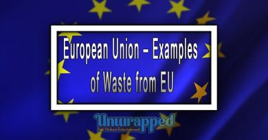 European Union – Examples of Waste from EU