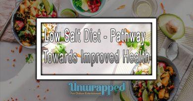 Low Salt Diet - Pathway Towards Improved Health