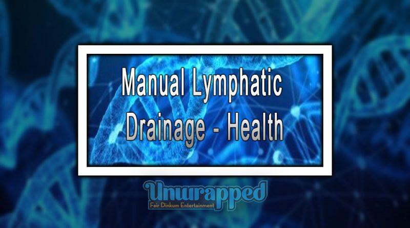 Manual Lymphatic Drainage - Health