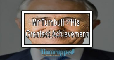 Mr Turnbull - His Greatest Achievement