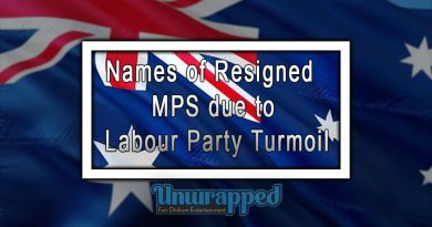 Names of Resigned MPS due to Labour Party Turmoil