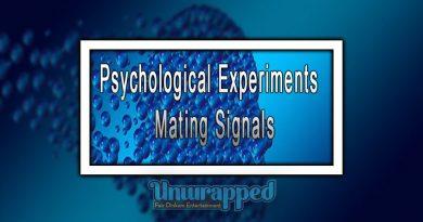 Psychological Experiments - Mating Signals