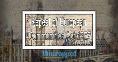 Repeal of European Communities Act 1972