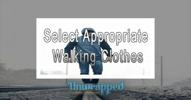 Select Appropriate Walking Clothes