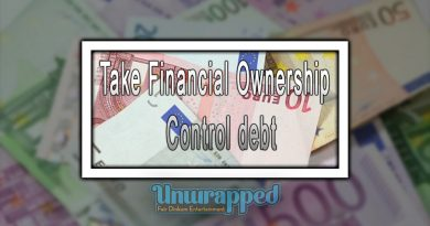 Take Financial Ownership - Control debt
