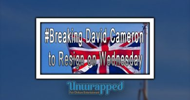 #Breaking David Cameron to Resign on Wednesday
