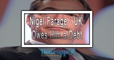 Nigel Farage - UK Owes Him a Debt