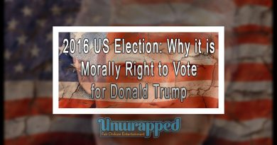 2016 US Election: Why it is Morally Right to Vote for Donald Trump