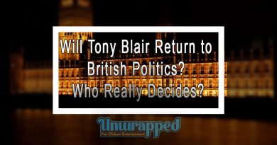 Will Tony Blair return to British politics Who really decides