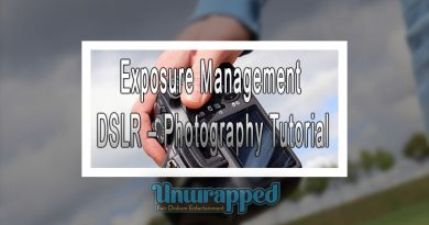 Exposure Management DSLR – Photography Tutorial