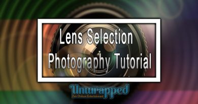 Lens Selection - Photography Tutorial