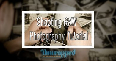 Shooting RAW – Photography Tutorial