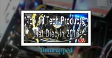 Top 10 Tech Products that Died in 2016