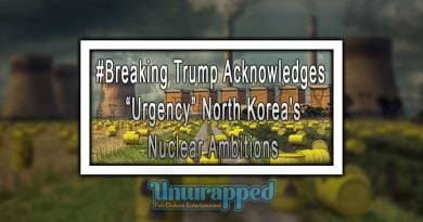 "#Breaking Trump Acknowledges ""Urgency"" North Korea's Nuclear Ambitions"