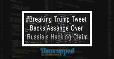#Breaking Trump Tweet Backs Assange Over Russia's Hacking Claim