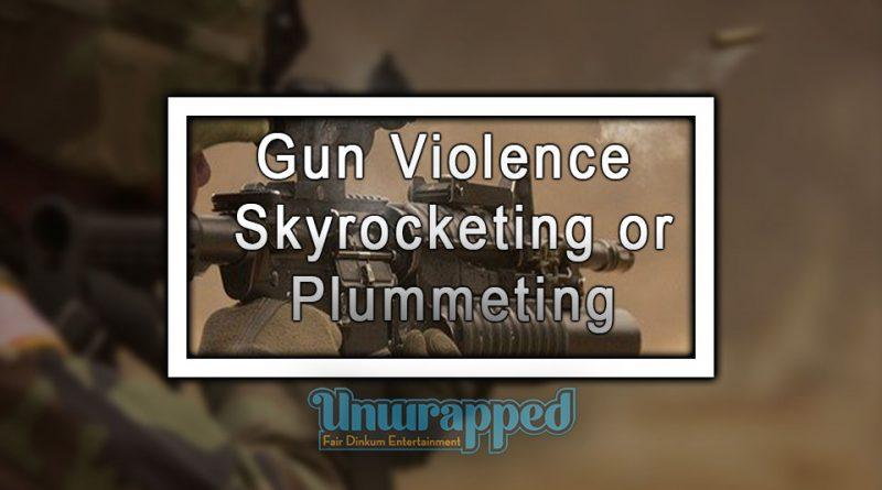 Gun Violence: Skyrocketing or Plummeting