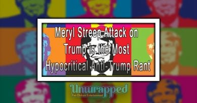 Meryl Streep Attack on Trump is the Most Hypocritical Anti-Trump Rant