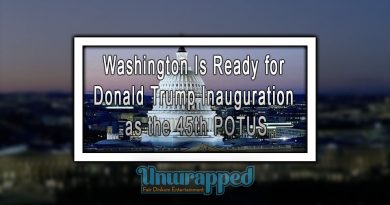 Washington Is Ready for Donald Trump Inauguration as the 45th POTUS