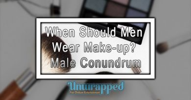 When Should Men Wear Make-up Male Conundrum
