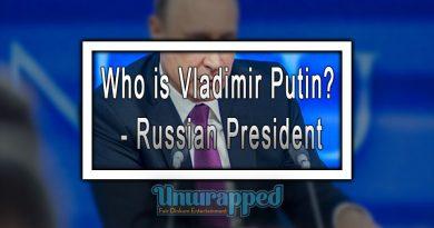 Who is Vladimir Putin - Russian President