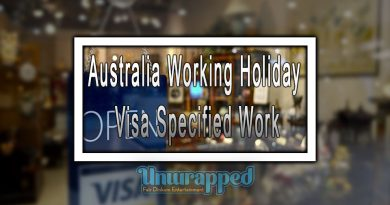 Australia Working Holiday Visa Specified Work