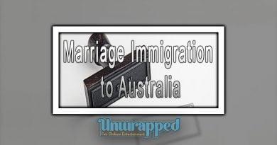 Marriage Immigration to Australia