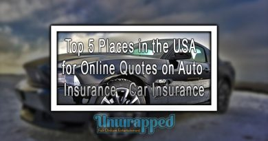 Top 5 Places in the USA for Online Quotes on Auto Insurance - Car Insurance