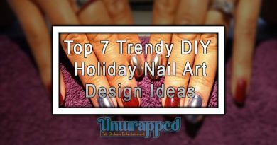Top 7 Trendy DIY Holiday Nail Art Design Ideas